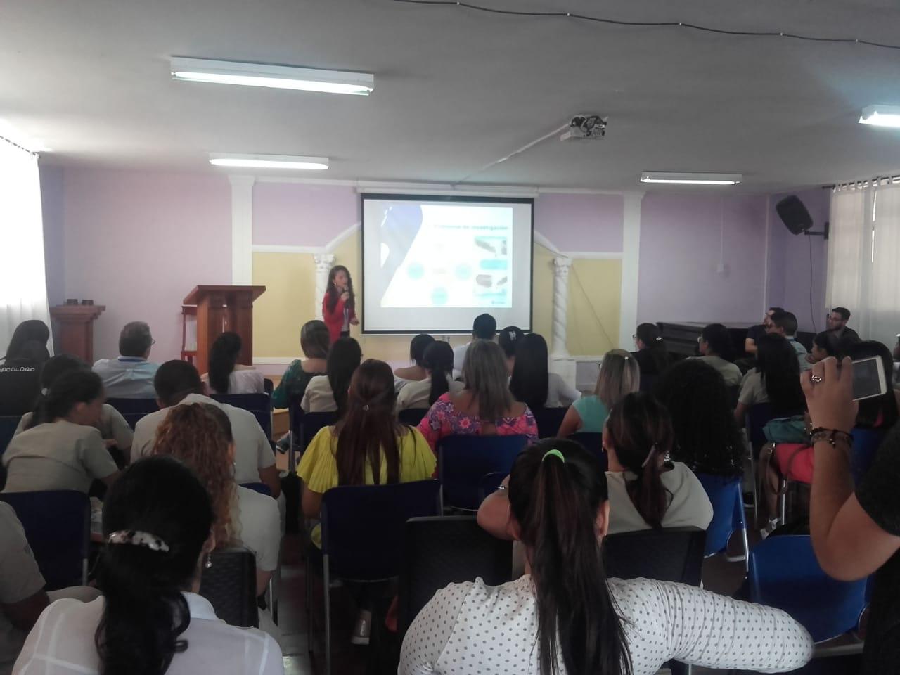 Presentación de proyectos de prácticas profesionales del programa de Psicología.
