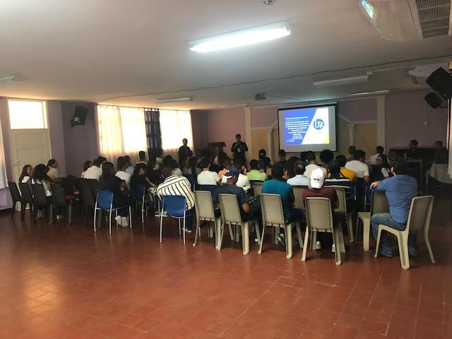Presentación de proyectos de la facultad de ingenierías, martes 30 abril.